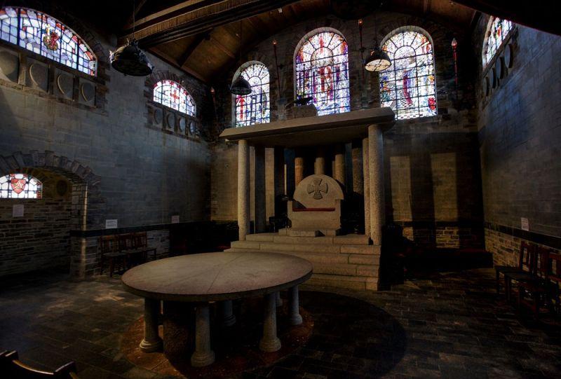 King Arthur S Great Halls Tintagel Cornwall Guide