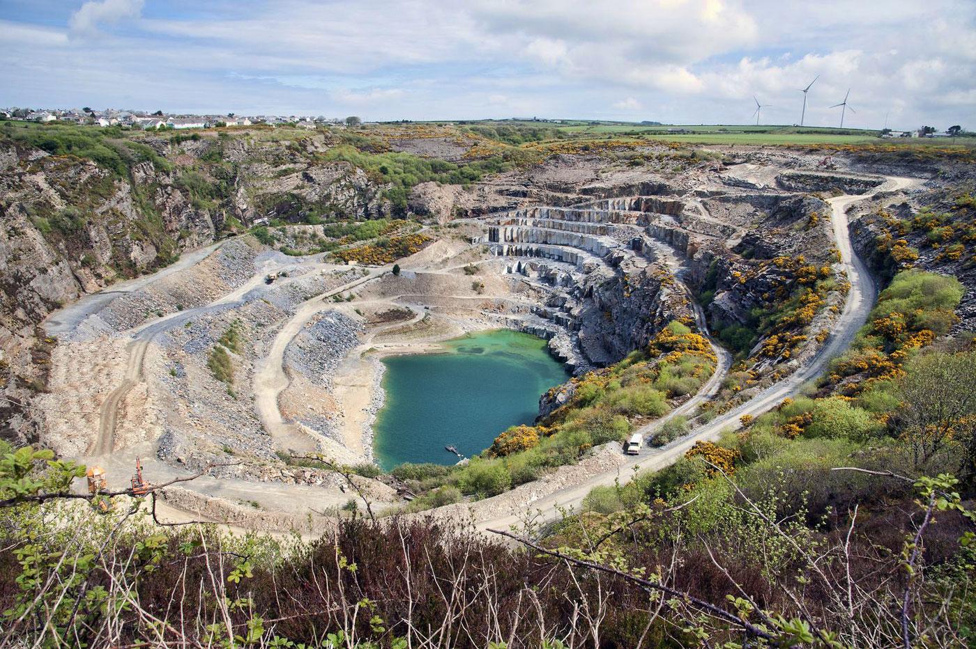 Delabole slate quarry