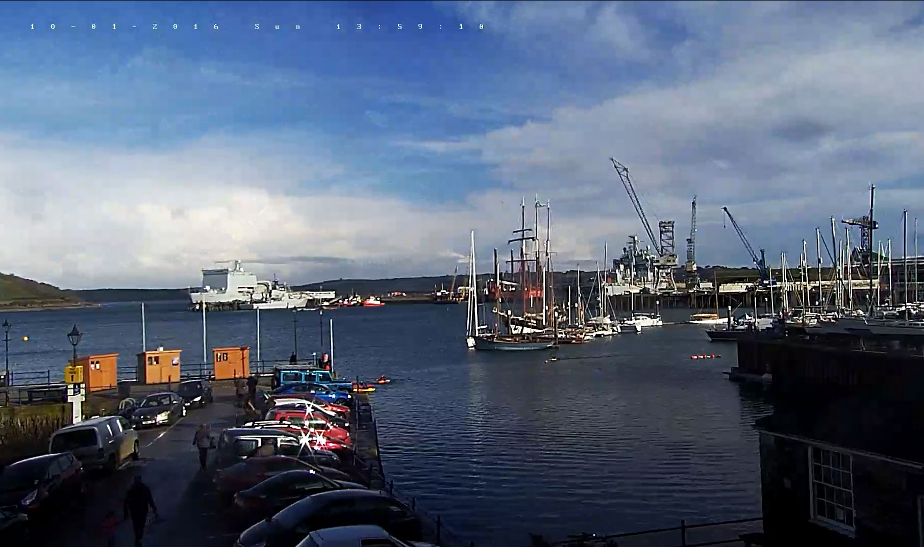 Falmouth Harbour Webcam Falmouth Cornwall Guide
