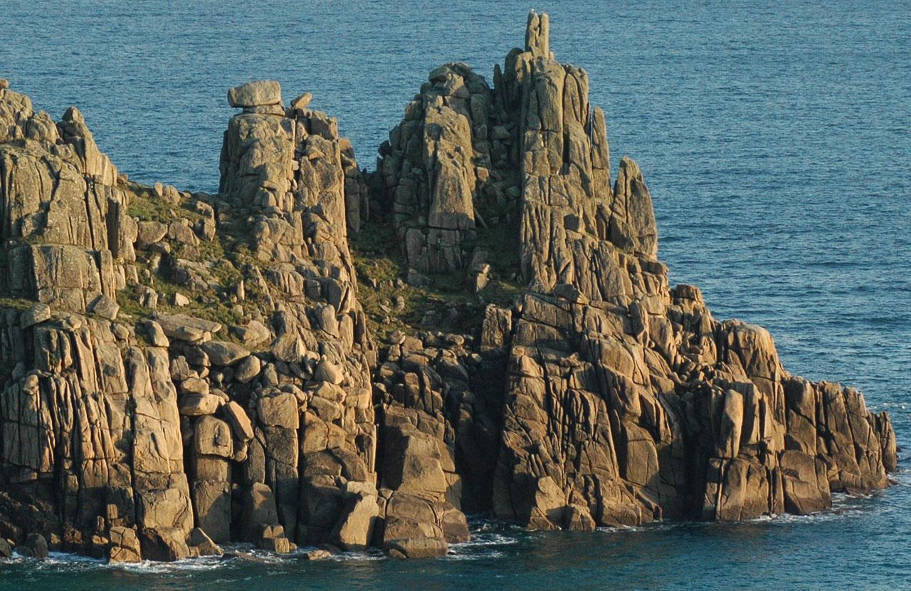 Logan Rock Treen Cornwall Guide