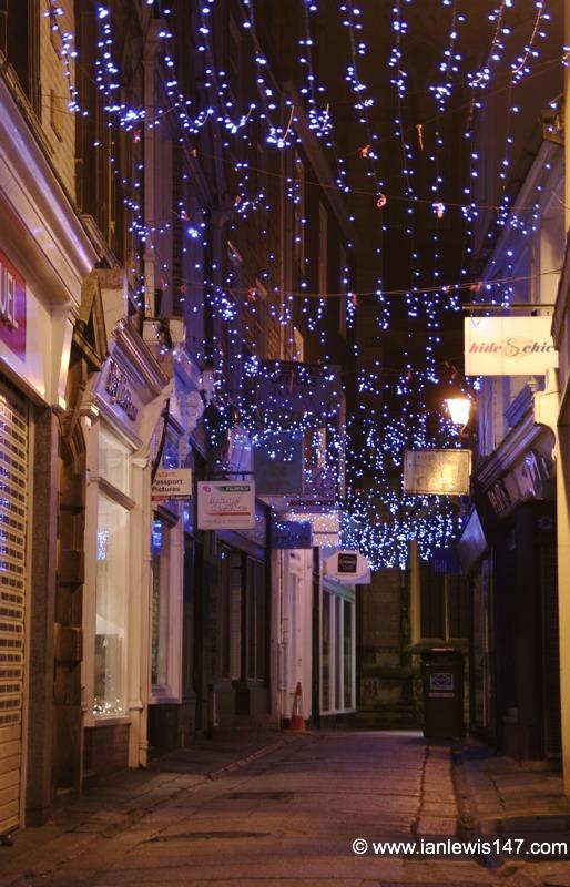 Xmas Lights - Truro City | Cornwall Guide