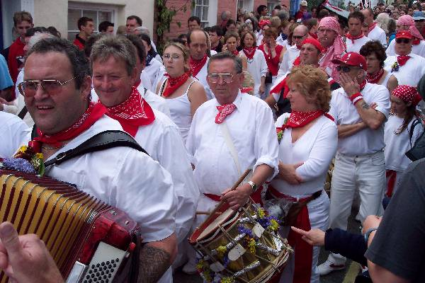 Obby Oss Parade - Padstow