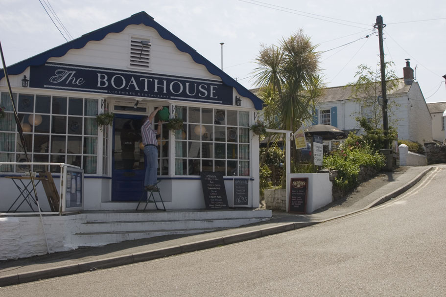 Boathouse Restaurant Falmouth Menu