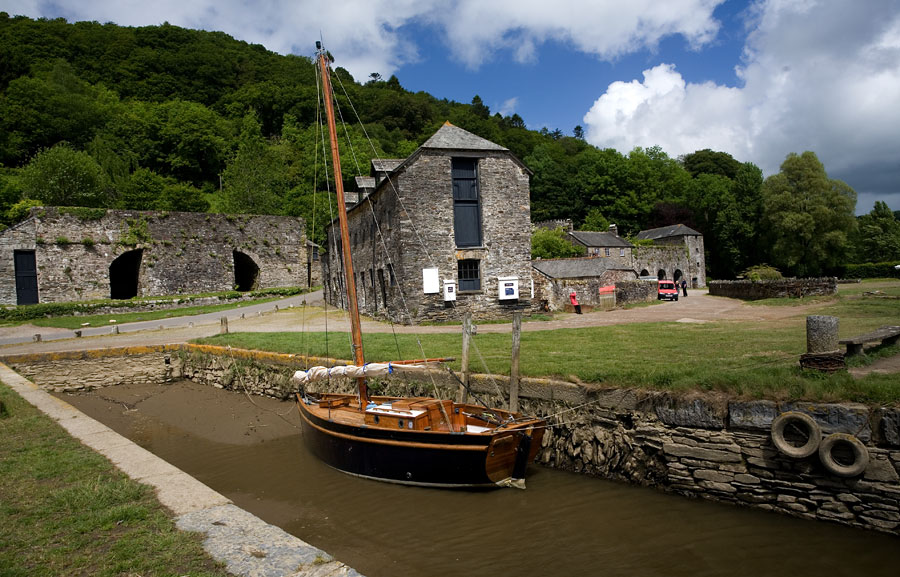 Image result for cotehele quay