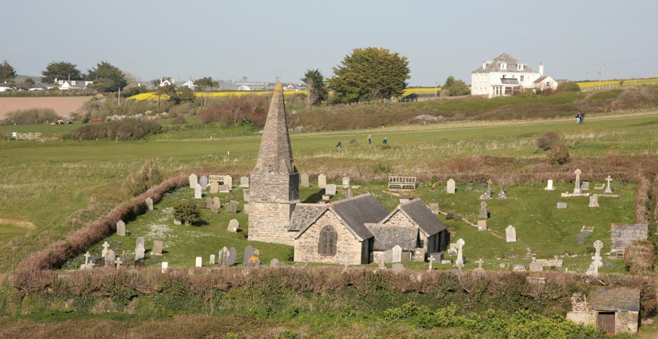 St Enodoc Church - Rock