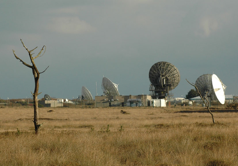 Goonhilly Satellite Earth Station The Lizard Cornwall
