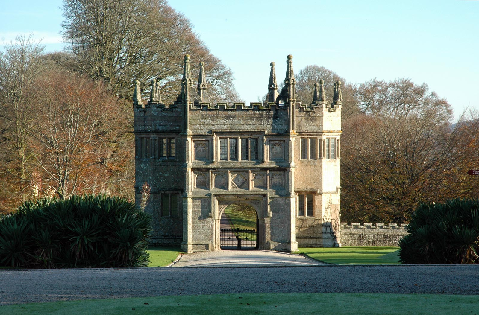 Lanhydrock Gatehouse Cornwall Guide