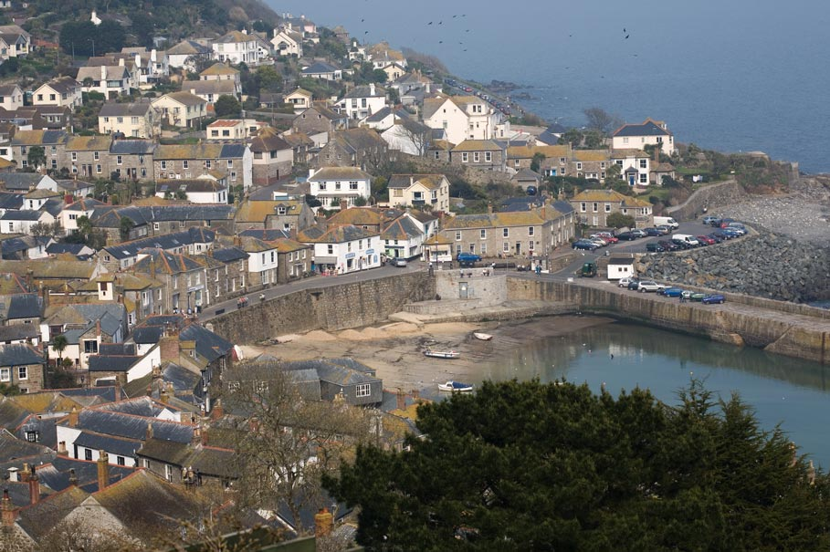 Mousehole View Cornwall Guide