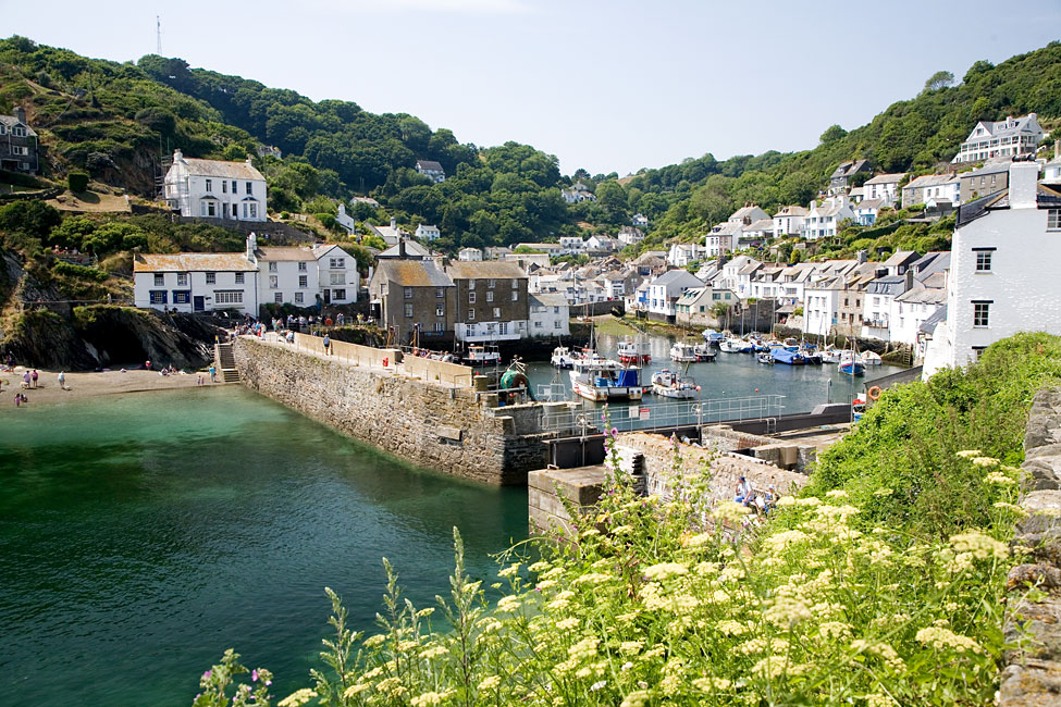 Polperro Harbour View
