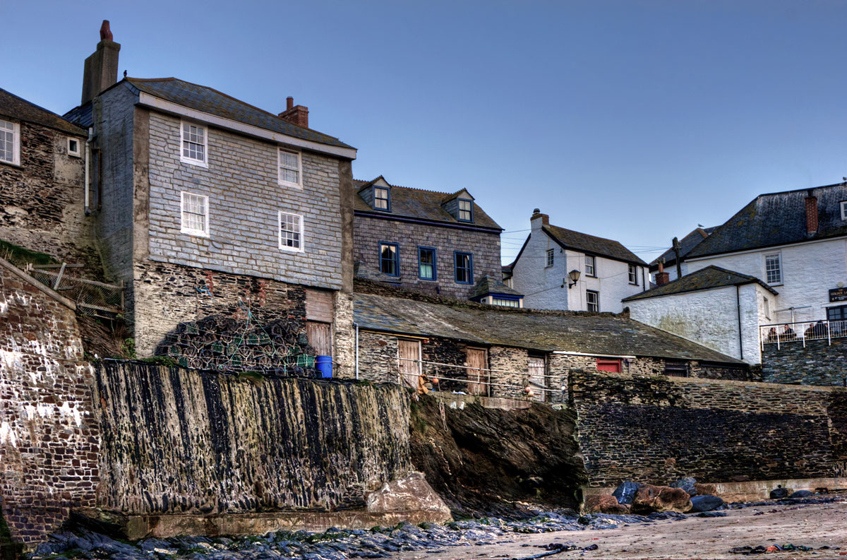 Port Isaac harbourfront