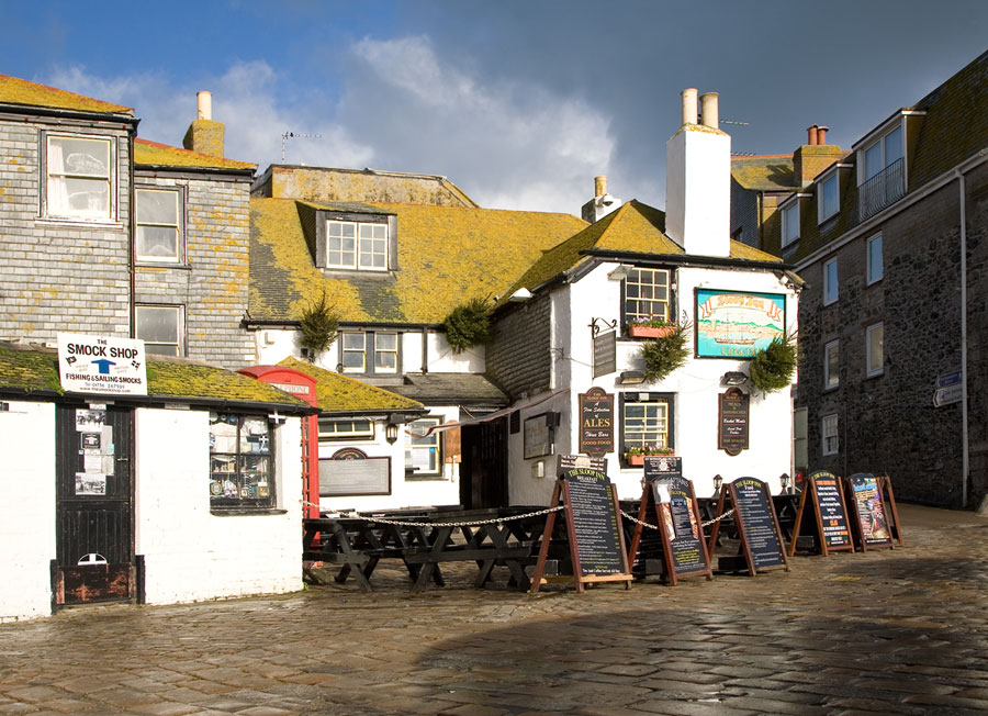 The sloop inn st ives cornwall guide for The ives