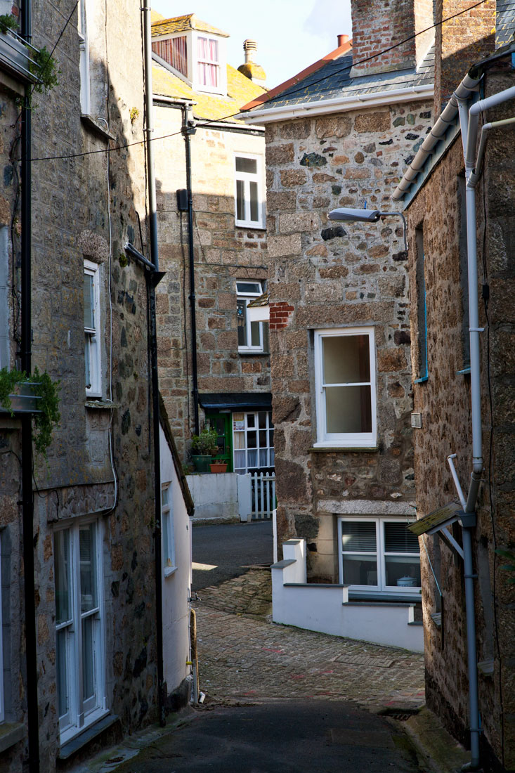 St ives back street front street cornwall guide for The ives