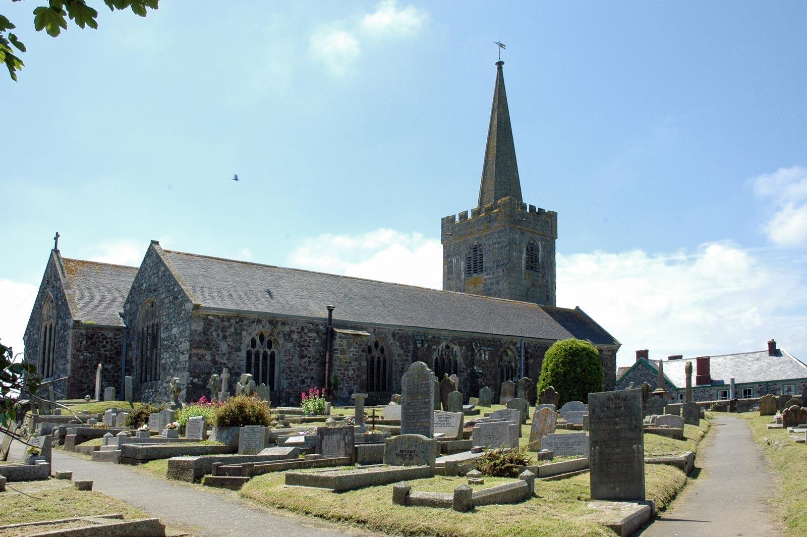 Superb Northcoast Church #1: St-keverne-church.jpg
