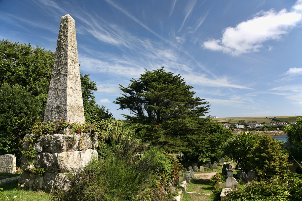 Churchyard St Mary S Old Church Scilly Cornwall Guide