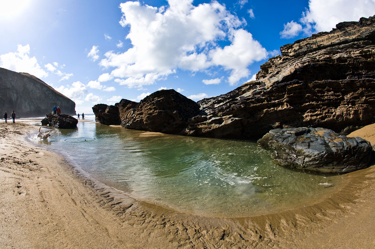 Best Rock Pooling Beaches North Cornwall