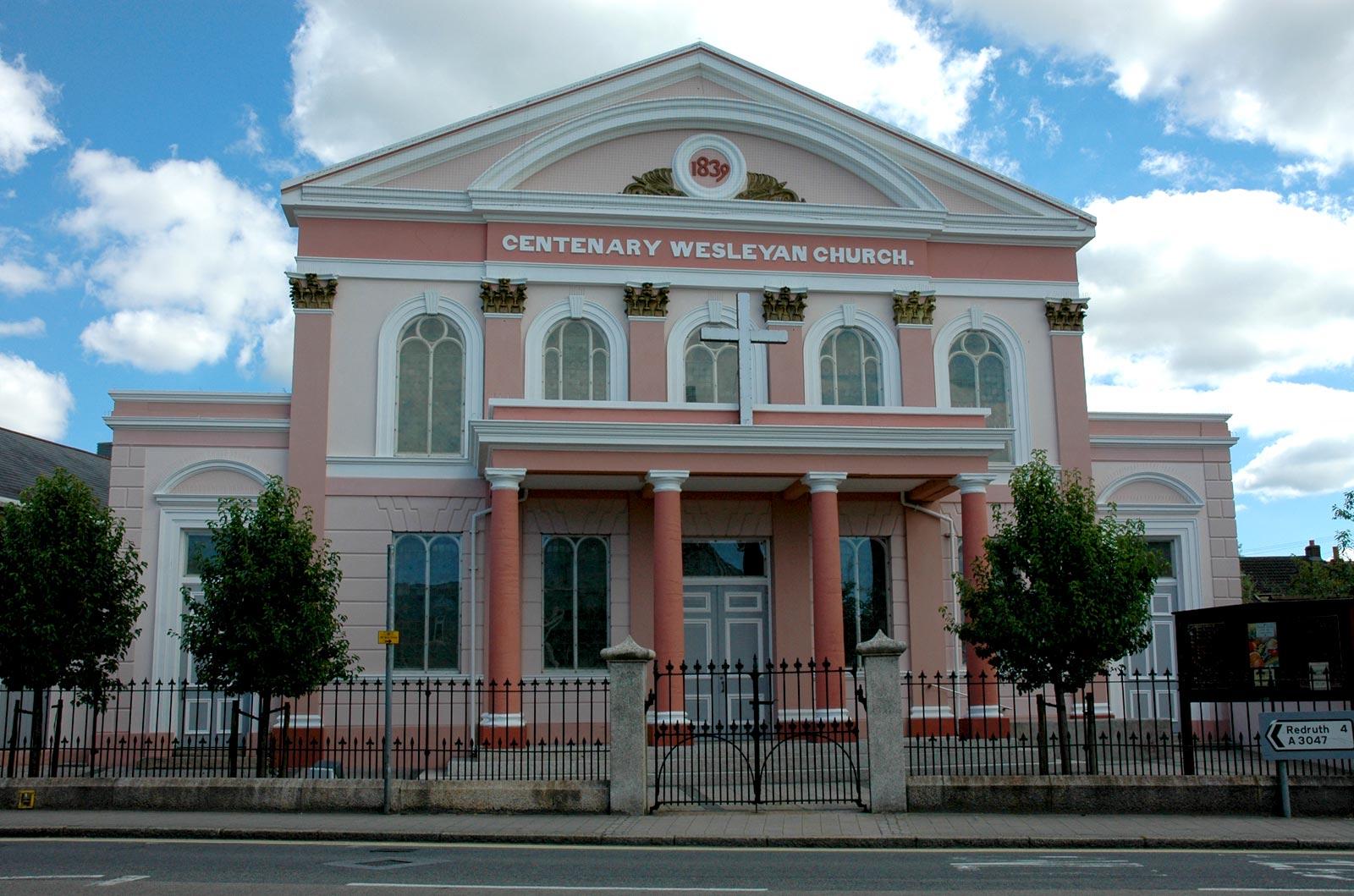 Centenary Wesleyan Church - Camborne
