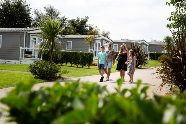 Meadow Lodges at Hendra Holiday Park
