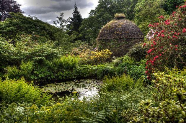 Cotehele House gardens