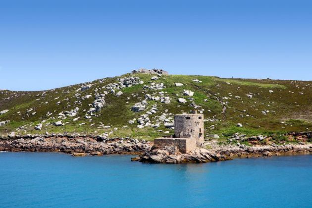 Cromwell's and King Charles Castle - Tresco, Scilly