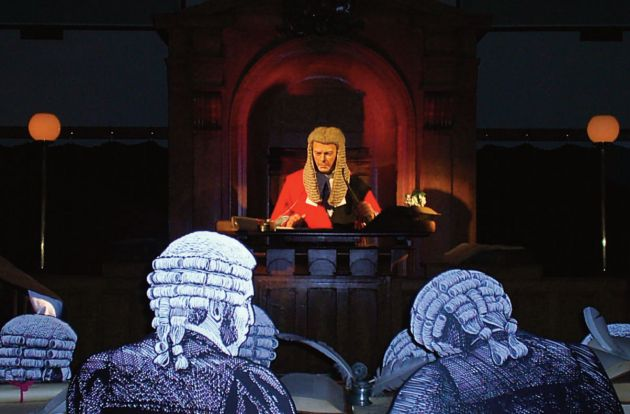 Courtroom Experience - Bodmin