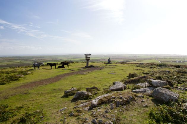 View from Chapel Carn Brea