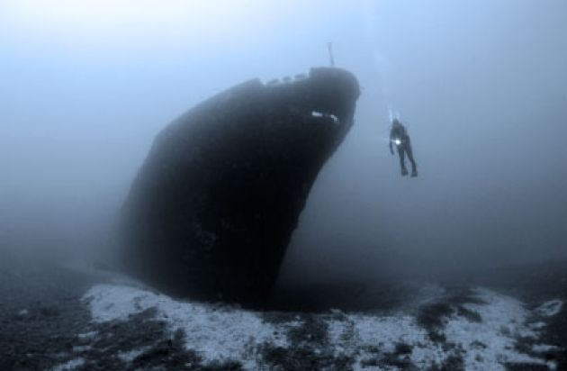 Diving in Cornwall