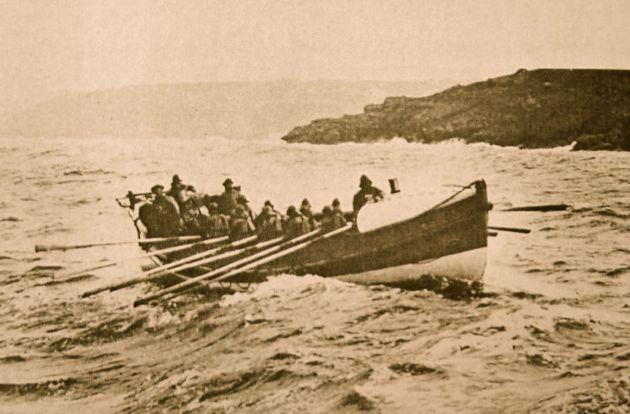 St Ives Lifeboat - Pilot gig