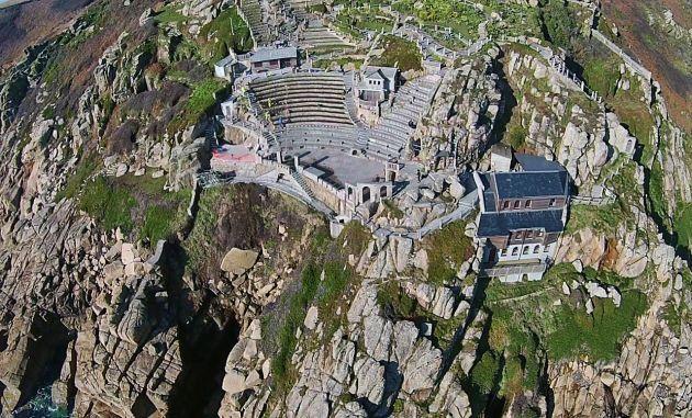Minack Theatre - Aerial photo