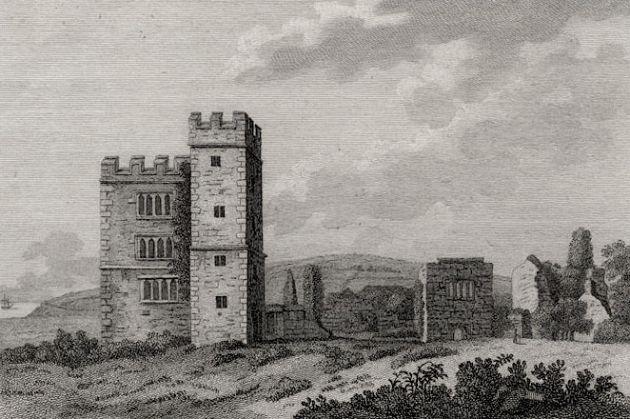 Pengersick Castle, Praa Sands