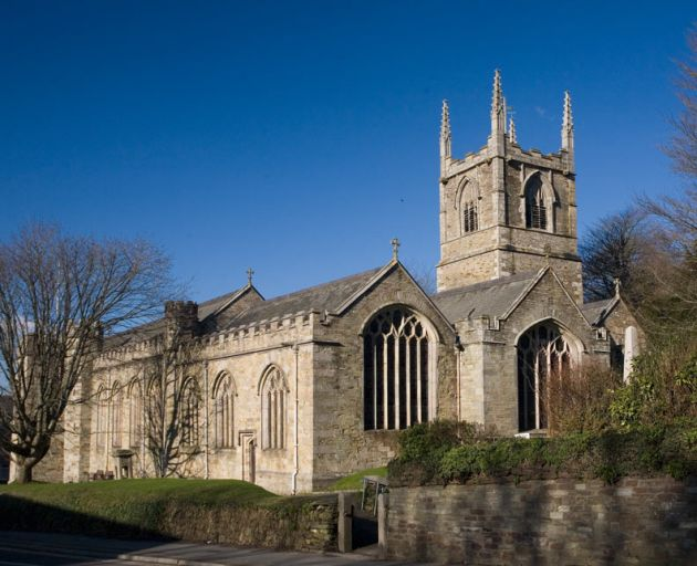 Bodmin church, St Petroc's