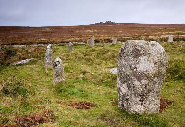 Tregeseal East Stone Circle