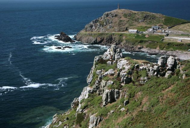 Cape Cornwall from Carn Gloose