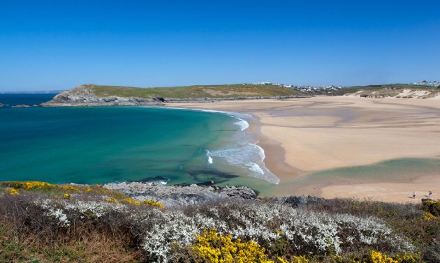 Crantock Beach, near Newquay
