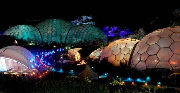 Eden Project Christmas