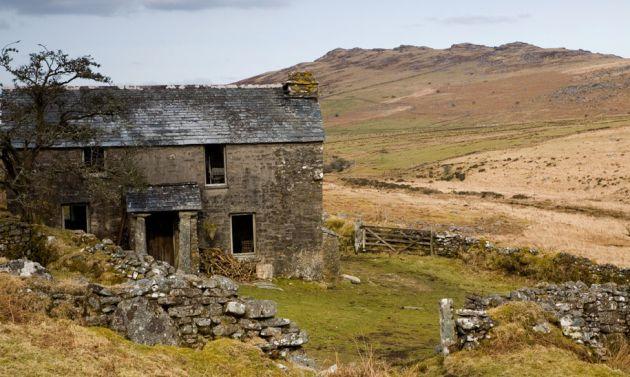 Bodmin Moor Derelict Farmhouse