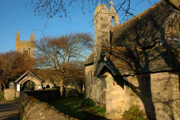 Gwithian Vicarage and Church