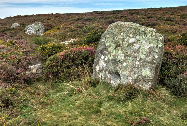Kenidjack Common Holed Stones
