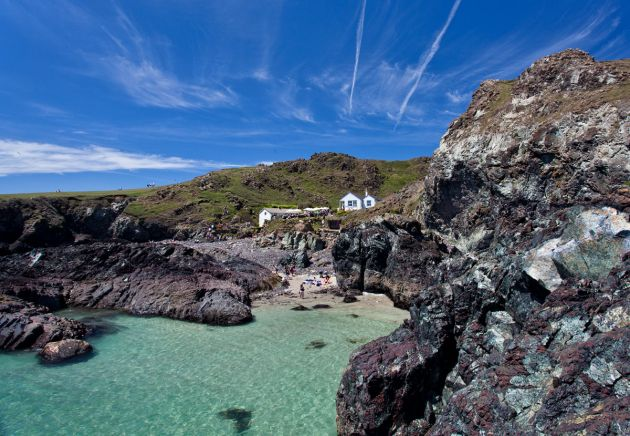 Kynance Cove - View back