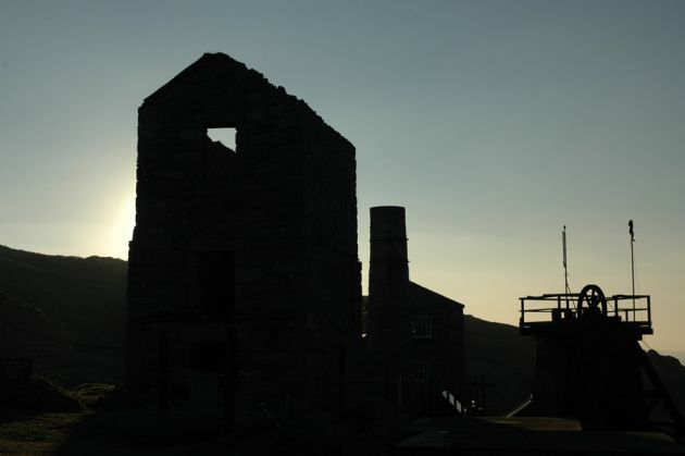 Levant Mine Silhouette