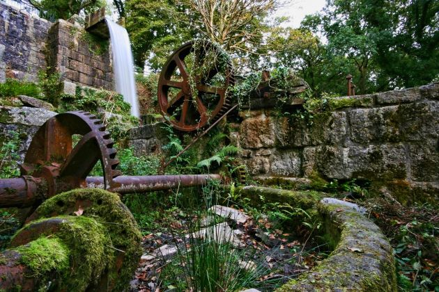 Carmears Wheel Pit - Luxulyan Valley