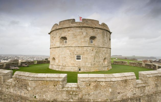 Pendennis Castle Keep