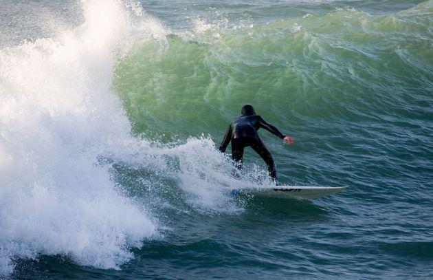 Polzeath Surfer