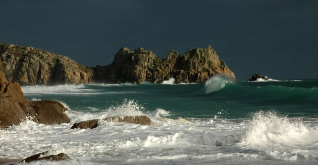 Porthcurno Storm