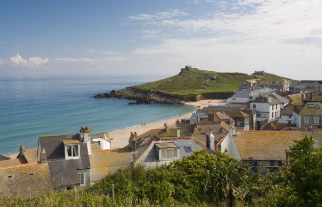 Porthmeor Rooftops - St Ives