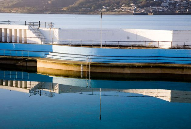 Jubilee Pool Reflection - Penzance