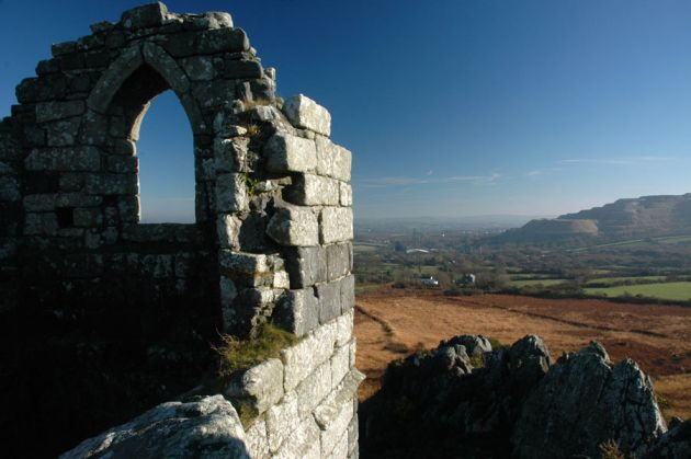 East from Roche Rock