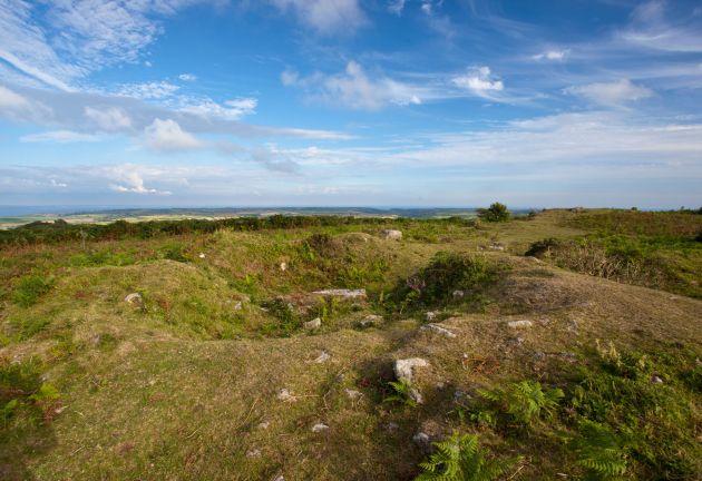 Sancreed Beacon burial mounds