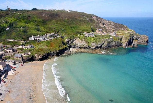 Trevaunance Cove - St Agnes