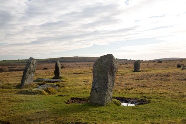 Trippet Stones - Bodmin Moor