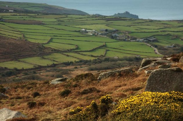View from Zennor Carn